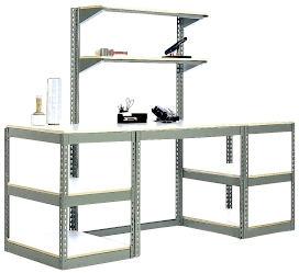 Teilhaber Rivet Shelving Workbench